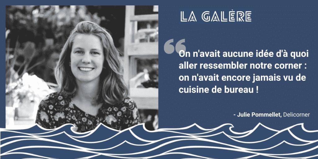 Julie Pommellet - Delicorner : du bonheur en snack !