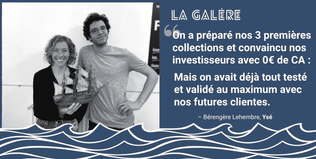 Berengere et Mickael : On a préparé nos 3 premières collections avec 0€ de CA.