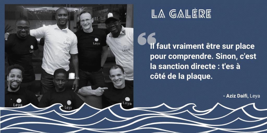 Aziz et Thibault - Leya | Podcast La Galère | Start The F Up